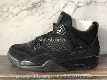 Super Quality Air Jordan 4 IV Retro Black Cat