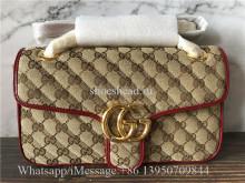 Original Gucci Red GG Marmont Bag