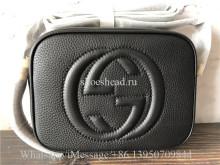 Original Quality Gucci Soho Small Shoulder Bag Black