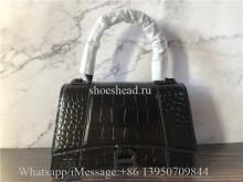Original Balenciaga Hourglass Xs Top Handle Bag Aw19
