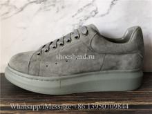 Super Quality Alexander McQueen Oversized Sneaker Grey Suede