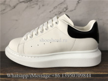 Super Quality Alexander McQueen Oversized Sneaker Black Leather