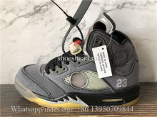 Super Quality Off White x Air Jordan 5 Retro SP Muslin