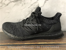 Adidas Ultra Boost 4.0 Triple Black BB6171 Real Boost