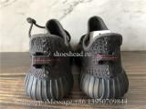 Kid Infant Adidas Yeezy 350 V2 Black Reflective Child