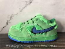 Kid Infant Grateful Dead x Nike SB Dunk Low Green Bear