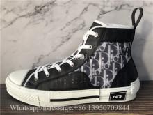 Super Quality Dior B23 High-Top Sneakers Black Dior Oblique