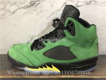 Air Jordan 5 Retro Oregon Green Suede