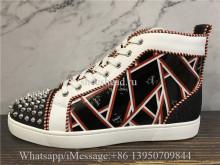 Christian Louboutin Flat High Top Sneaker