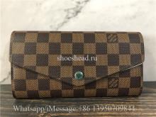 Original Louis Vuitton Portefeuille Sarah Long Bifold Wallet N60114