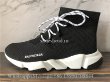 Balenciaga Speed Trainer Black White Sole