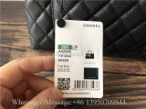 Original Chanel Coco Top Handle Bag Quilted Caviar With Snakeskin