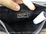 Orginal Quality Prada Nylon Re-Edition 2005 Shoulder Bag Black