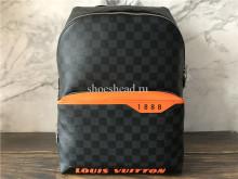Original Louis Vuitton Discovery Backpack PM Damier Cobalt Canvas