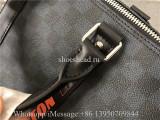 Original Quality Louis Vuitton Keepall Bandoulière 55 Damier Cobalt Canvas Duffle