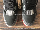 Off White x Air Jordan 4 Bred