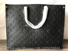 Original Louis Vuitton Onthego GM Empreinte Leather Tote Bag M44925
