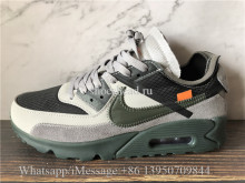 Off White x Nike Air Max 90 Wolf Grey