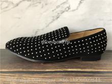 Christian Louboutin Roller Boy Black Suede Opera Sneaker