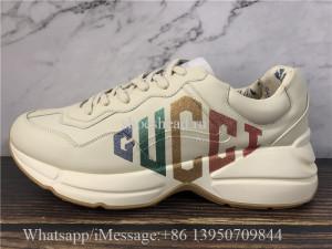 Super Quality Gucci Rhyton Vintage Trainer Sneaker Multicolor Web Signature