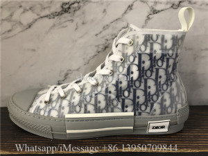 Super Quality Dior B23 High-Top Sneakers Blue White