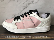 Christian Dior Homme B02 Shoes Pink White
