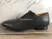 Christian Louboutin Dress Shoes Black Leather Loafer