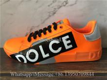 Dolce & Gabbana Low Top Sneaker Orange
