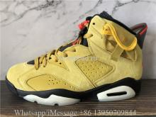 Travis Scott x Air Jordan 6 Retro Yellow Mustard