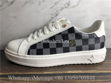 Super Quality Louis Vuitton Damier Low Top Sneaker White