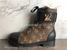 Louis Vuitton Wonderland Flat Ranger Boot