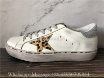 Golden Goose Deluxe Superstar Distressed Sneakers