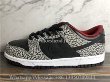 Supreme × Nike SB Dunk Low Black Cement