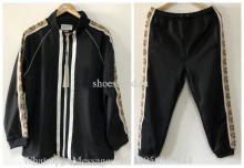 A Set Of Gucci Black Hoodie Suit & Pants Tracksuit