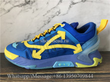 OFF-WHITE Blue & Yellow ODSY-2000 Sneakers
