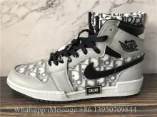Air Jordan 1 Retro High Dior Grey