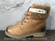 UGG Fur Waterproof Ankle Boots