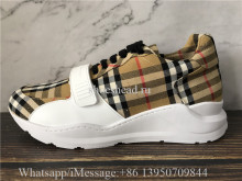 Burberry Regis Chunky Sneakers Antique Yellow