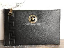 Versace Black Envelope Bag