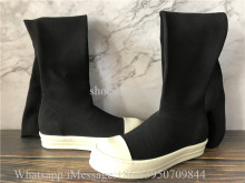 Rick Owens Over Knee Boots
