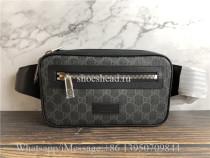Original Quality Gucci GG Supreme Black Belt Bag