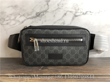 Original Quality Gucci GG Supreme Black Belt Bag