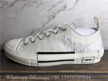 Super Quality Dior B23 Low Top Shoes Triple White