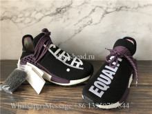 Pharrell x Adidas NMD Human Race Holi Festival Core Black Purple