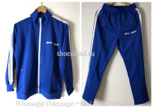 Palm Angels 2019 Sport Jacket And Pants Blue(US Size)