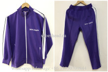 Palm Angels 2020 Sport Jacket And Pants Purple(US Size)