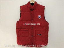Canada Goose Freestyle Vest Red Jacket