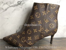 Louis Vuitton Cherie Ankle Boot Brown