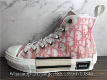 Dior B23 High-Top Sneakers Red White
