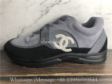 Chanel Low Top Trainer CC Grey